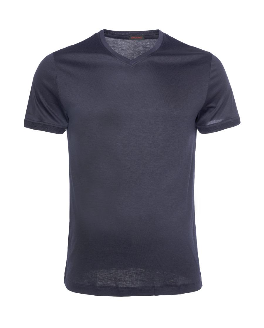 Aimer Men睡衣|亚洲城娱乐CenterT V领短袖上衣NS
