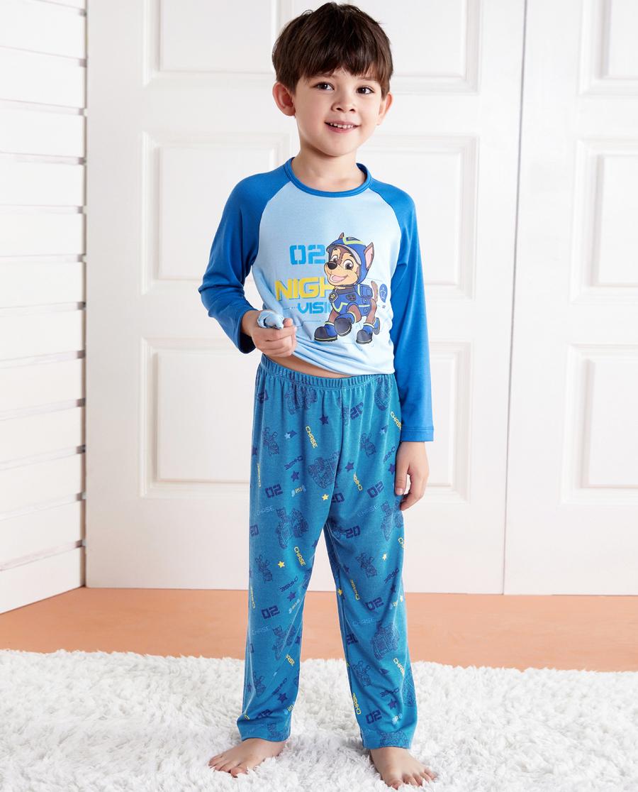 Aimer Kids睡衣|爱慕儿童汪汪队夜行特工长睡裤AK2422