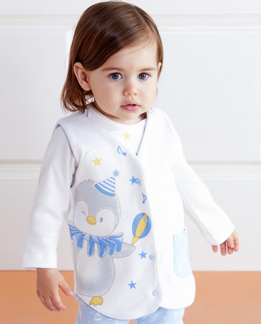 Aimer Baby保暖|愛慕嬰幼企鵝寶貝馬甲AB2721773