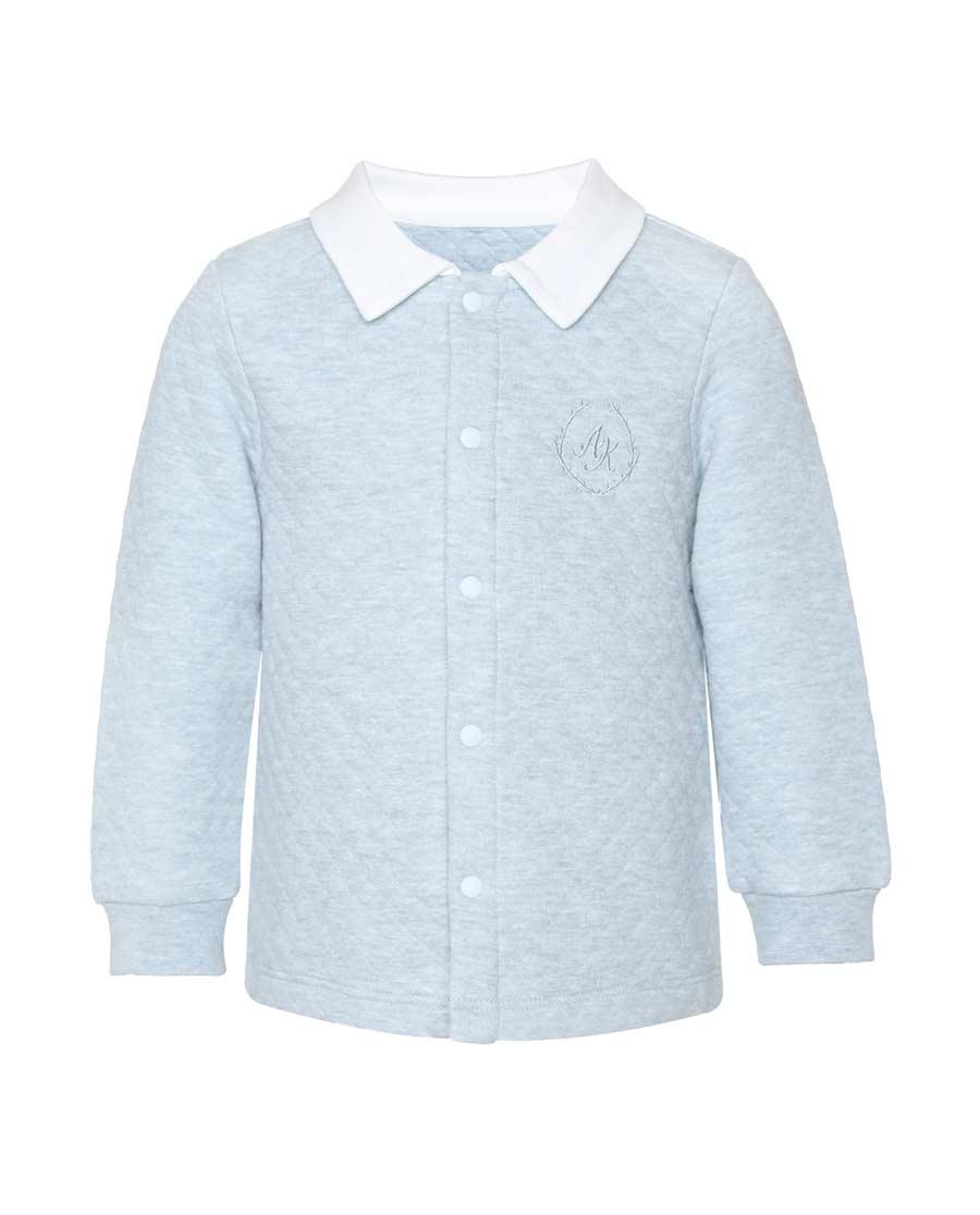 Aimer Baby保暖|ag真人平台婴幼植物暖暖长袖上衣AB272240