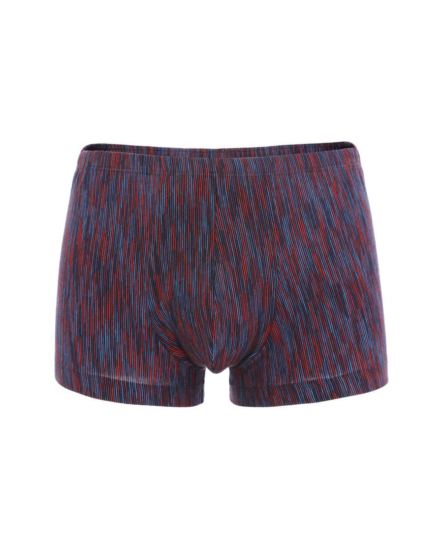 Aimer Men内裤|爱慕先生色织条纹中腰平角内裤NS23C331