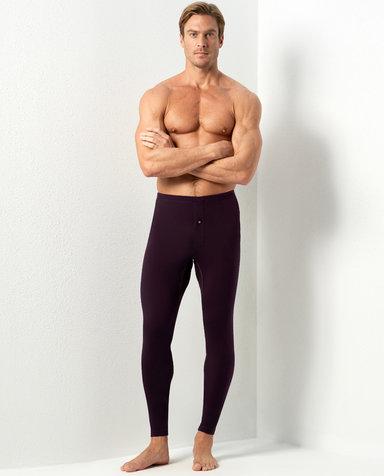 Aimer Men保暖|爱慕先生新warm双层长裤NS73C442