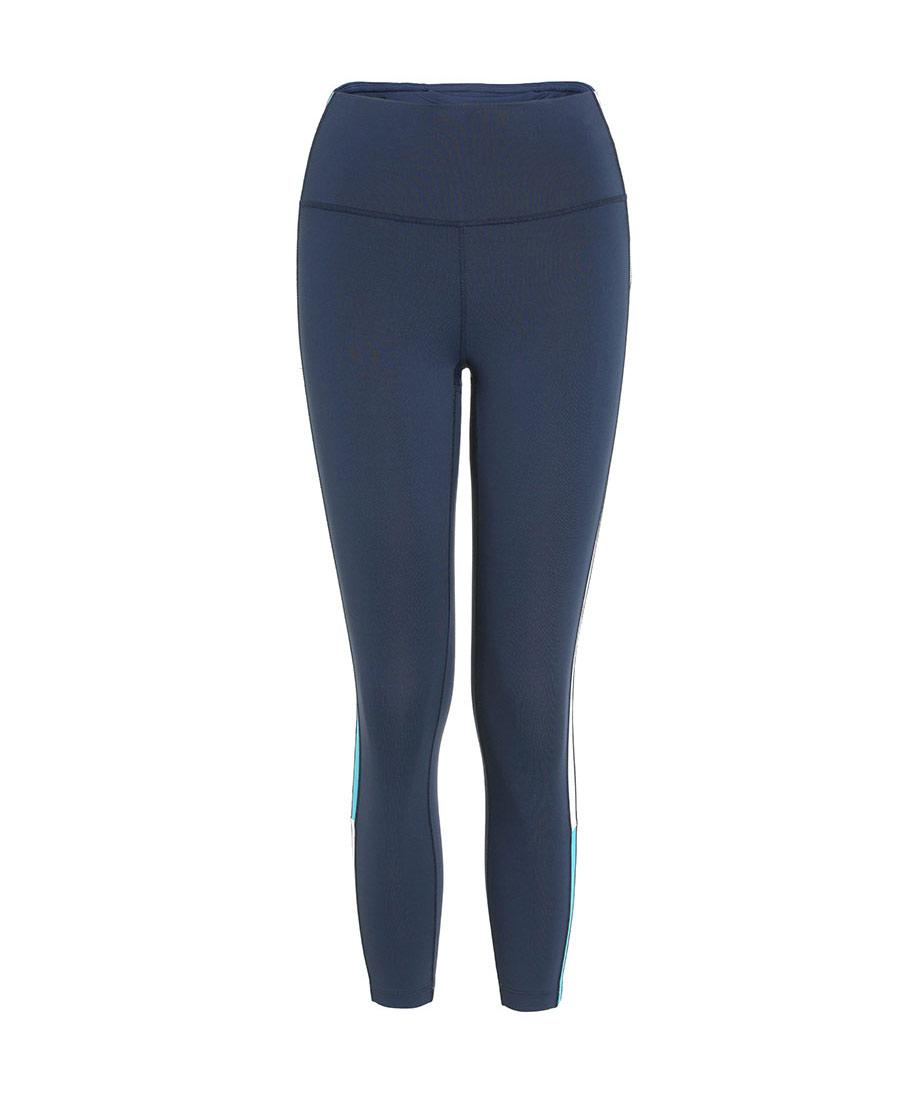Aimer Sports运动装|爱慕运动美力领跑拼接跑步八分裤AS153H31
