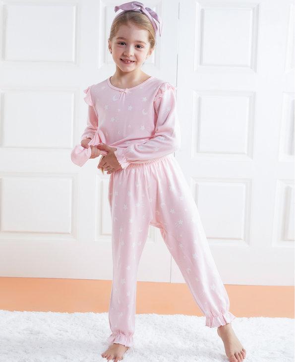 Aimer Kids睡衣|爱慕儿童星月传说女童家居长裤AK1422051