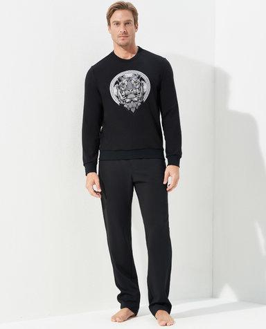Aimer Men睡衣|爱慕先生商务百搭裤长裤NS82C811