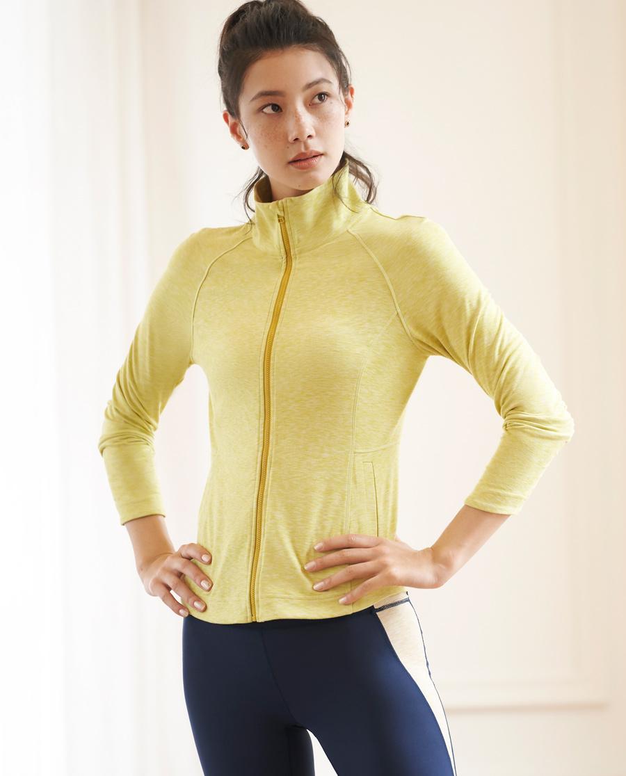 Aimer Sports运动装|巴黎夫人运动瑜伽大师立领拉链外套AS144H