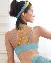 愛慕運動格調瑜伽低強度美背背心式文胸AS116H42