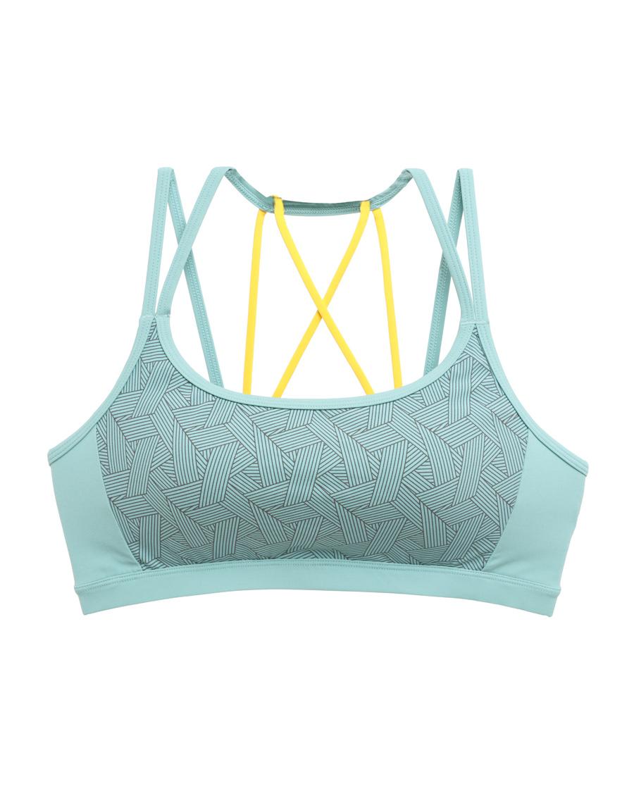 Aimer Sports文胸|巴黎夫人运动格调瑜伽低强度美背背心式文胸AS