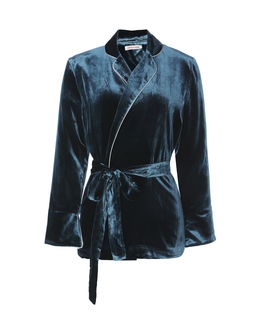 Aimer Home睡衣|愛慕家品絲絨外穿長袖外套AH450641