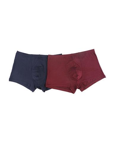 Body Wild内裤|宝迪威德莫代尔基础包腰平角裤两件装