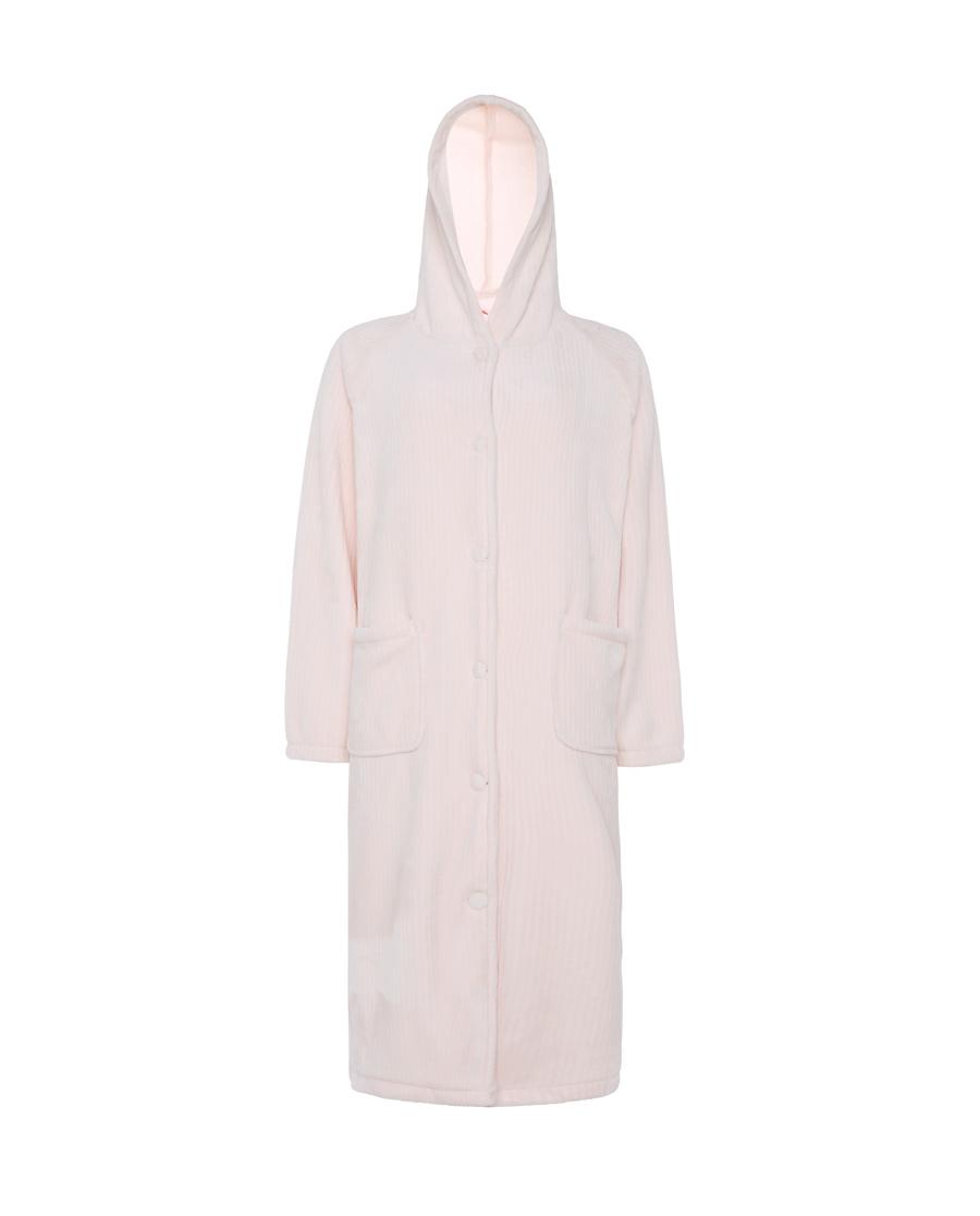 Aimer Home睡衣|爱慕家居珊瑚暖绒长袖睡袍AH480551