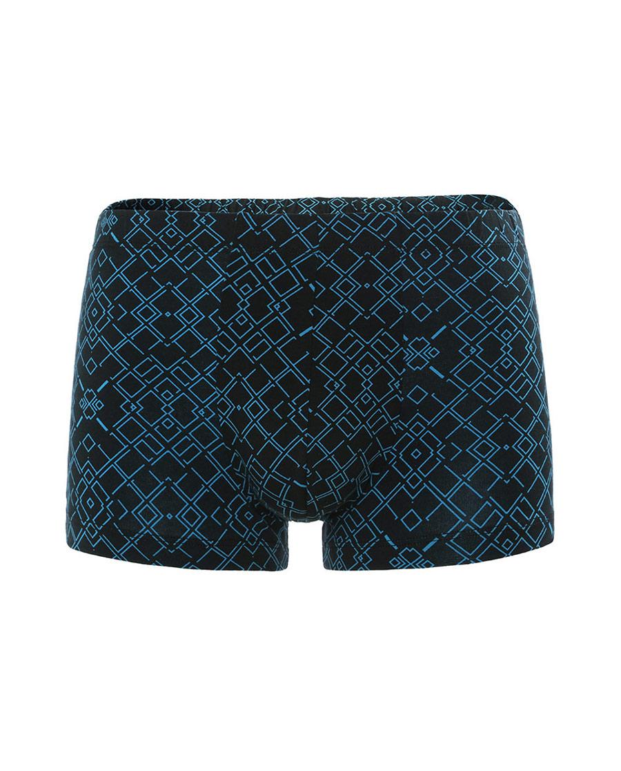 Body Wild内裤 宝迪威德炫色棉氨包腰印花平角内裤(两件包)ZBN23NJ2