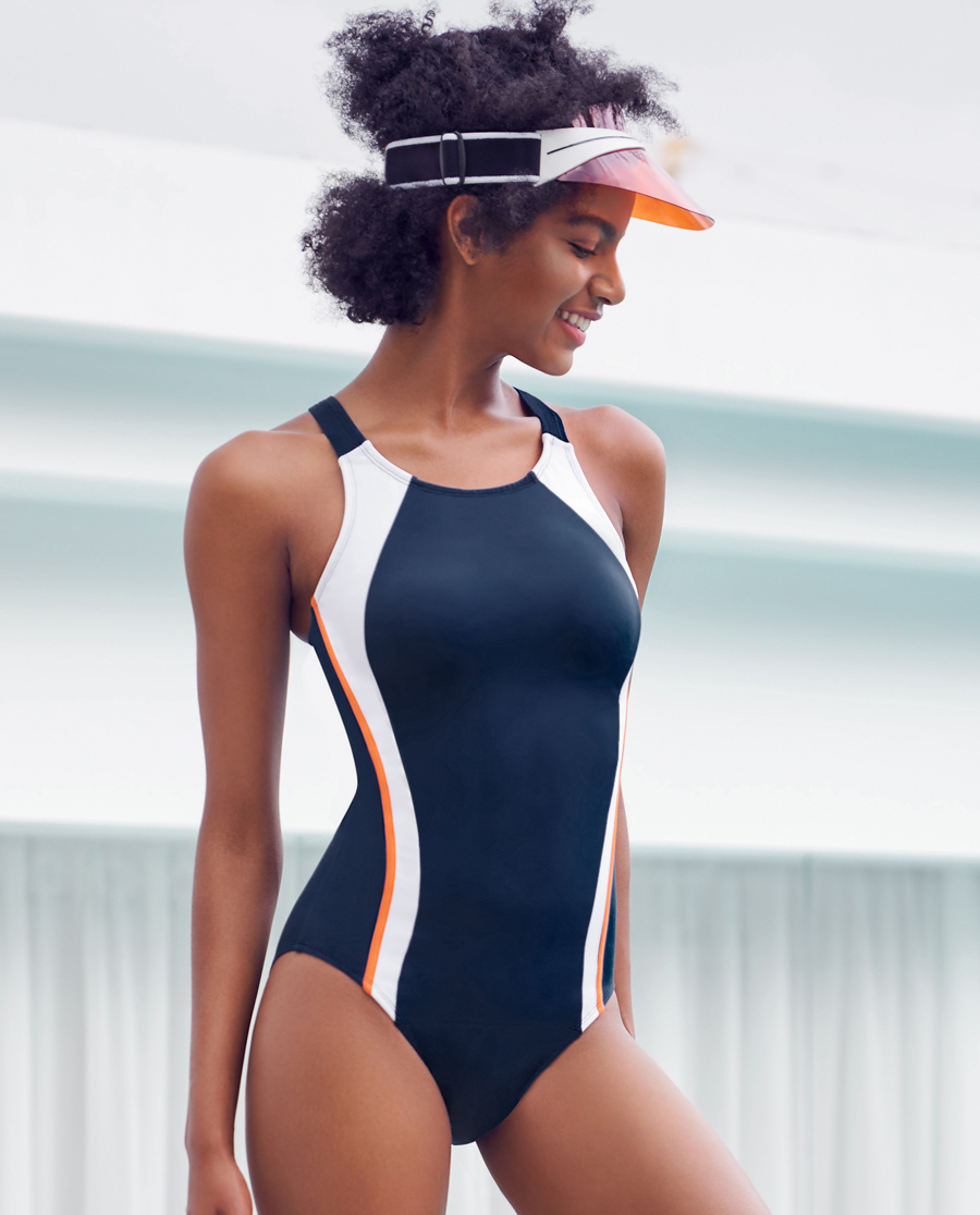 Aimer Sports泳衣|爱慕运动泳衣连体泳衣AS163J51