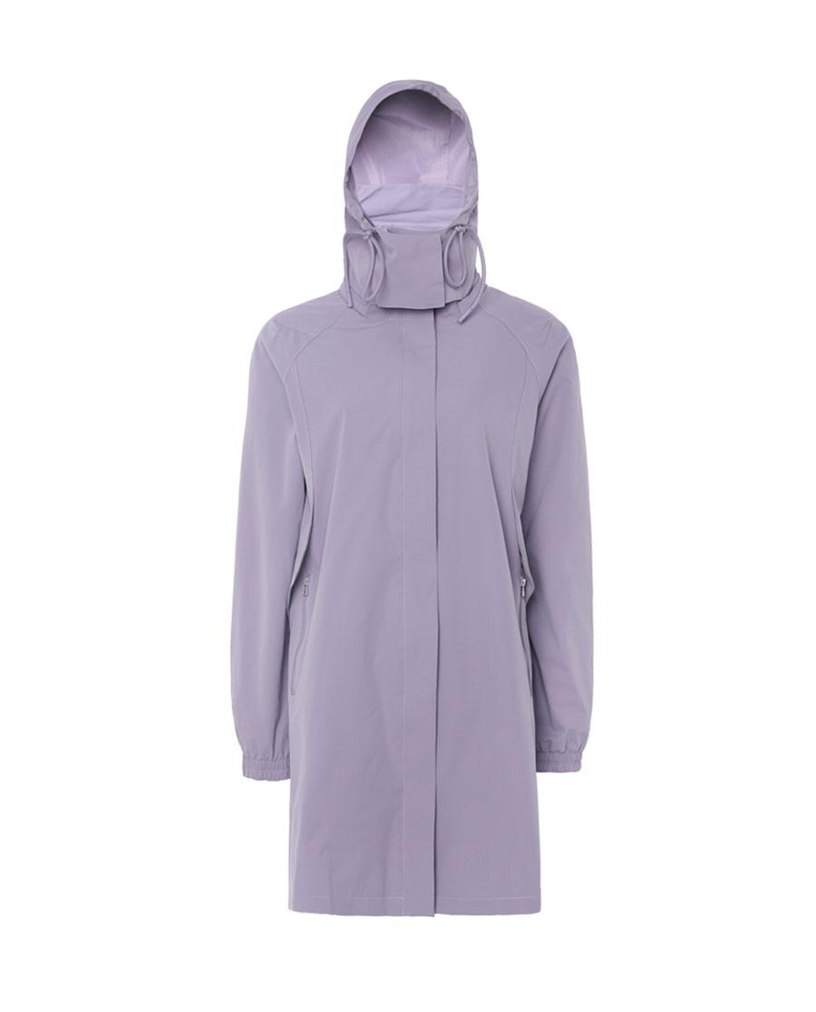 Aimer Sports睡衣|巴黎夫人运动任何天气II带帽拉链长外套AS1