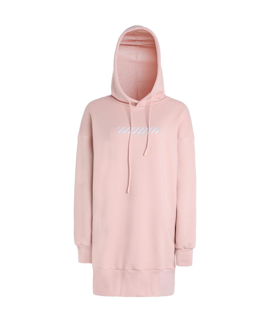 Aimer Sports睡衣|巴黎夫人运动运动假期带帽套头长款卫衣AS14