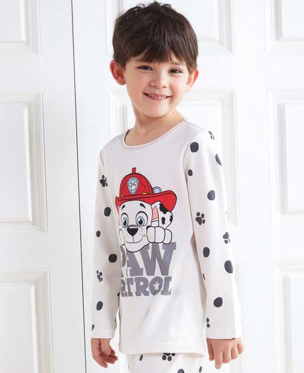 Aimer Kids睡衣|爱慕儿童汪汪队斑点狗套头长袖家居上衣AK3412361