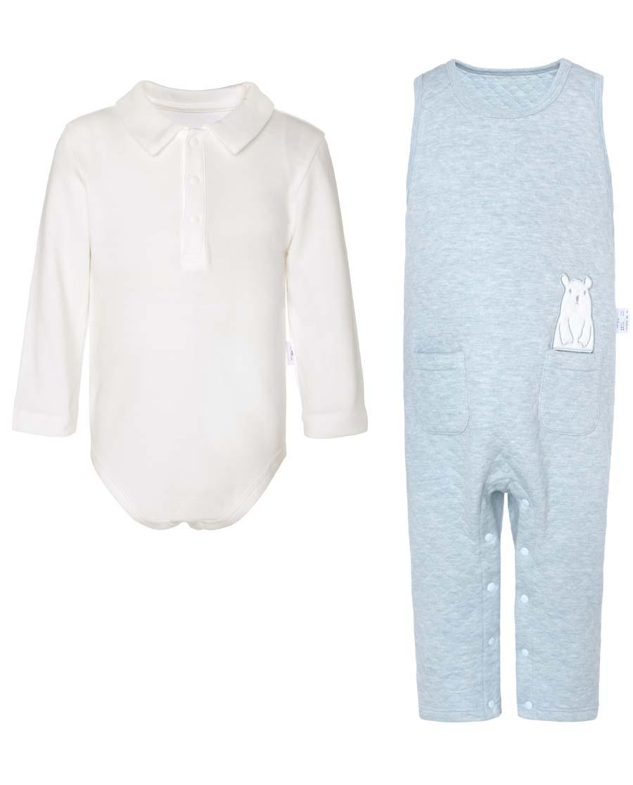 Aimer Baby保暖|愛慕兒童植物暖暖連體套裝AB274240