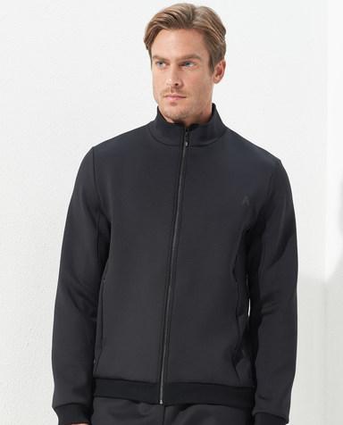 Aimer Men睡衣|爱慕先生太空棉外穿立领长袖开衫NS81C821