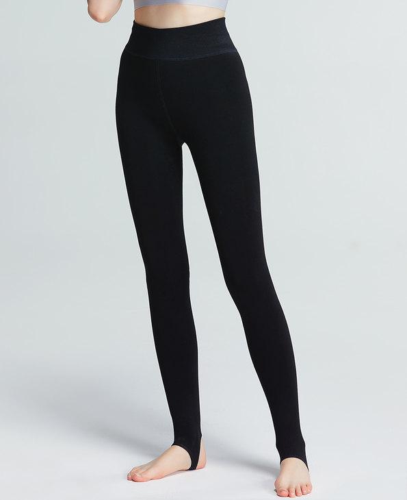 IMIS保暖 爱美丽打底裤袜爽滑细腻双层踩脚中厚打底裤IM82CMW3