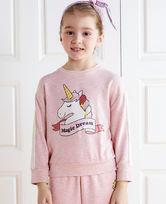 爱慕儿童牛奶套头长袖上衣AK1412481