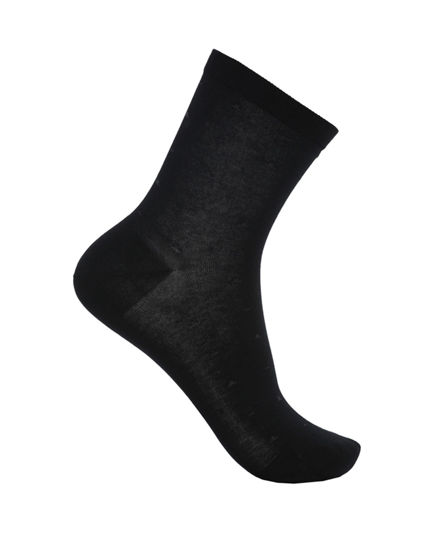 Aimer Men袜子|爱慕先生袜子棉提花商务袜NS94W057