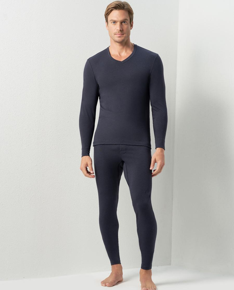 Aimer Men保暖|巴黎夫人先生真丝舒暖长裤NS73C441