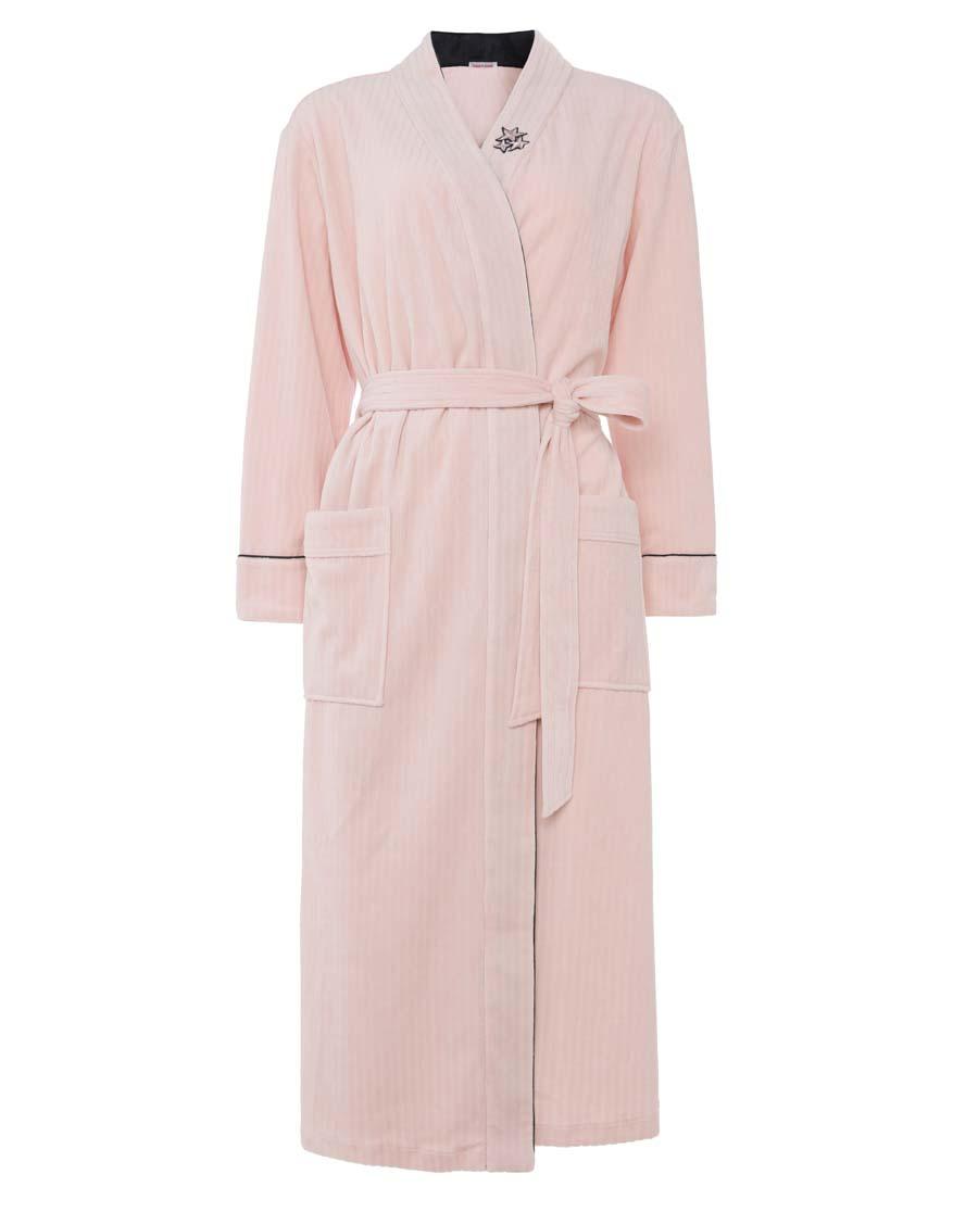 Aimer Home睡衣|爱慕家品绒华长袖睡袍AH480541
