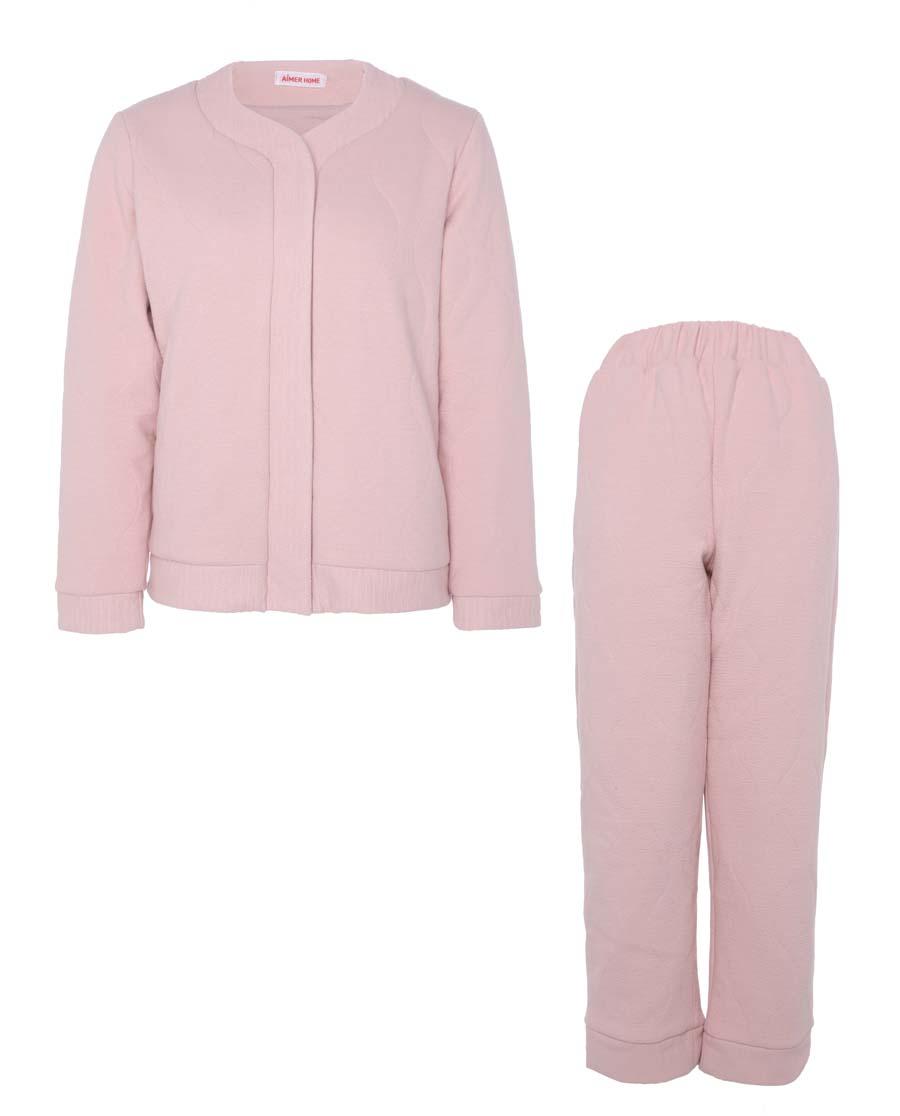 Aimer Home睡衣|爱慕家品绗缝情怀绗缝分身家居套装AH460581