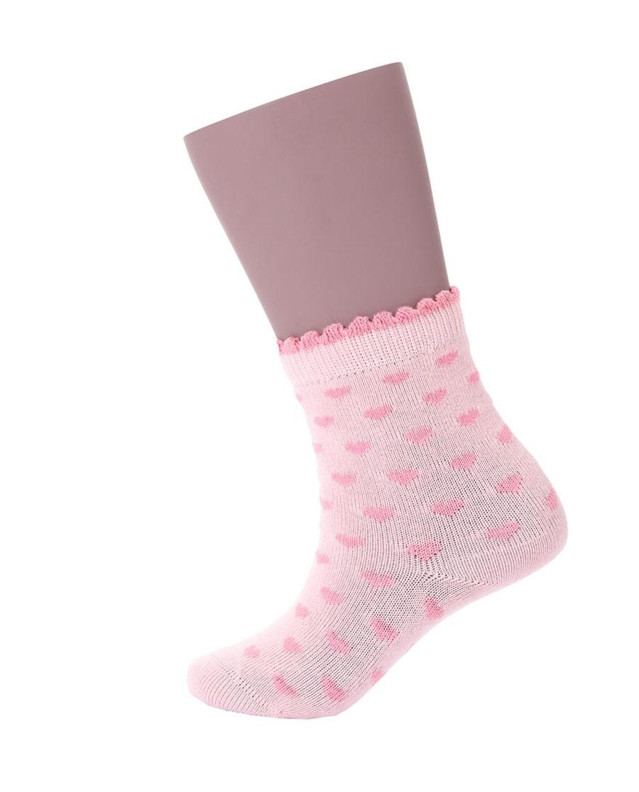 JOURVA襪子|足哇小甜心兒童提花短筒襪JV511045