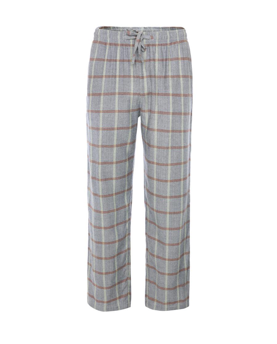 Aimer Men睡衣|愛慕先生年輕格紋家居長褲NS42C671