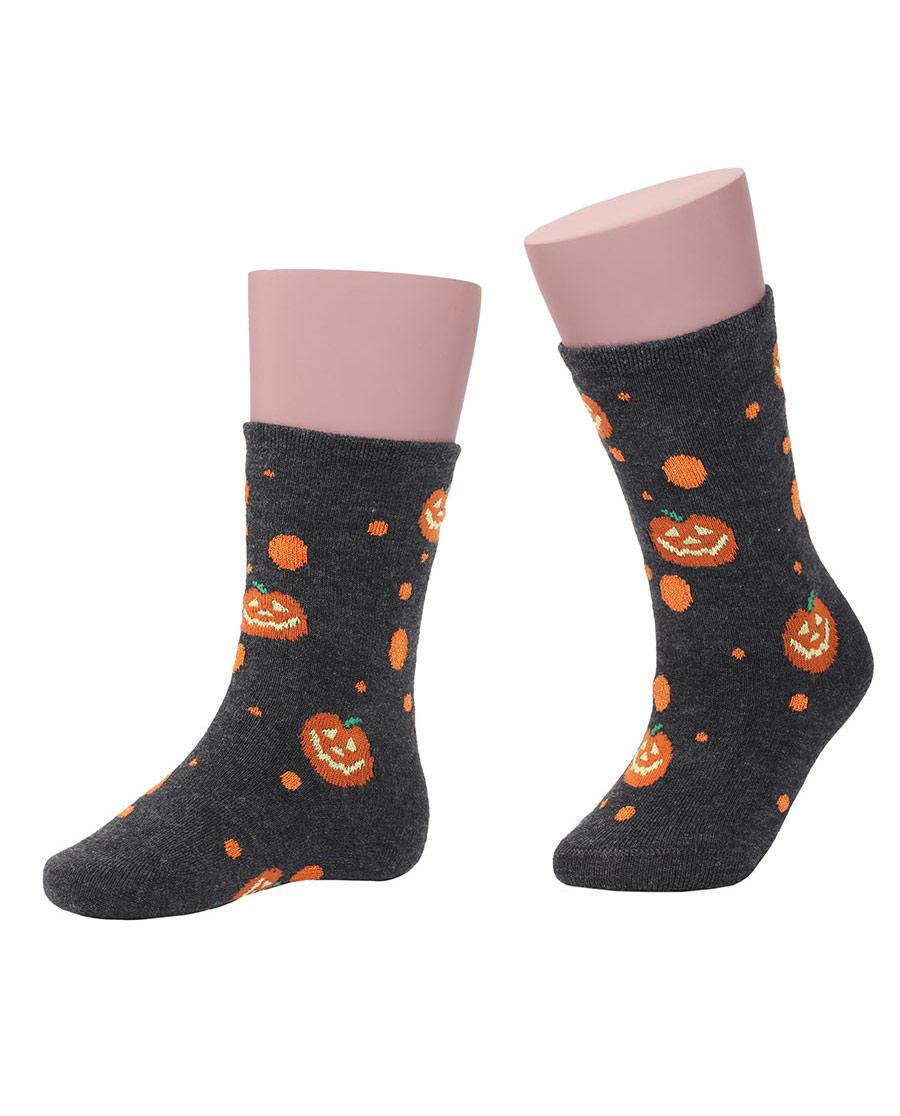 JOURVA袜子|足哇Halloween万圣节提花短袜JV