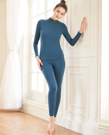 Aimer保暖|爱慕暖绒双层长裤AM733302