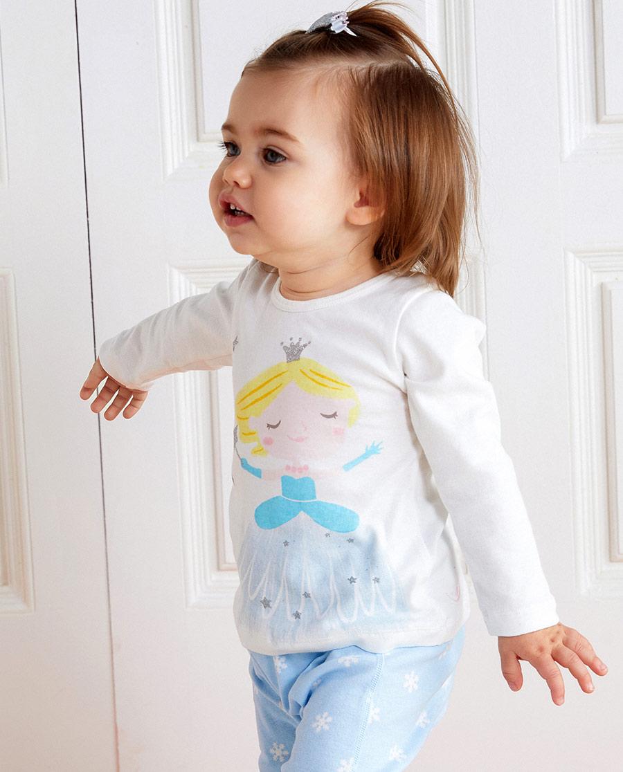 Aimer Baby保暖|愛慕嬰幼魔力雪公主長袖上衣AB17221