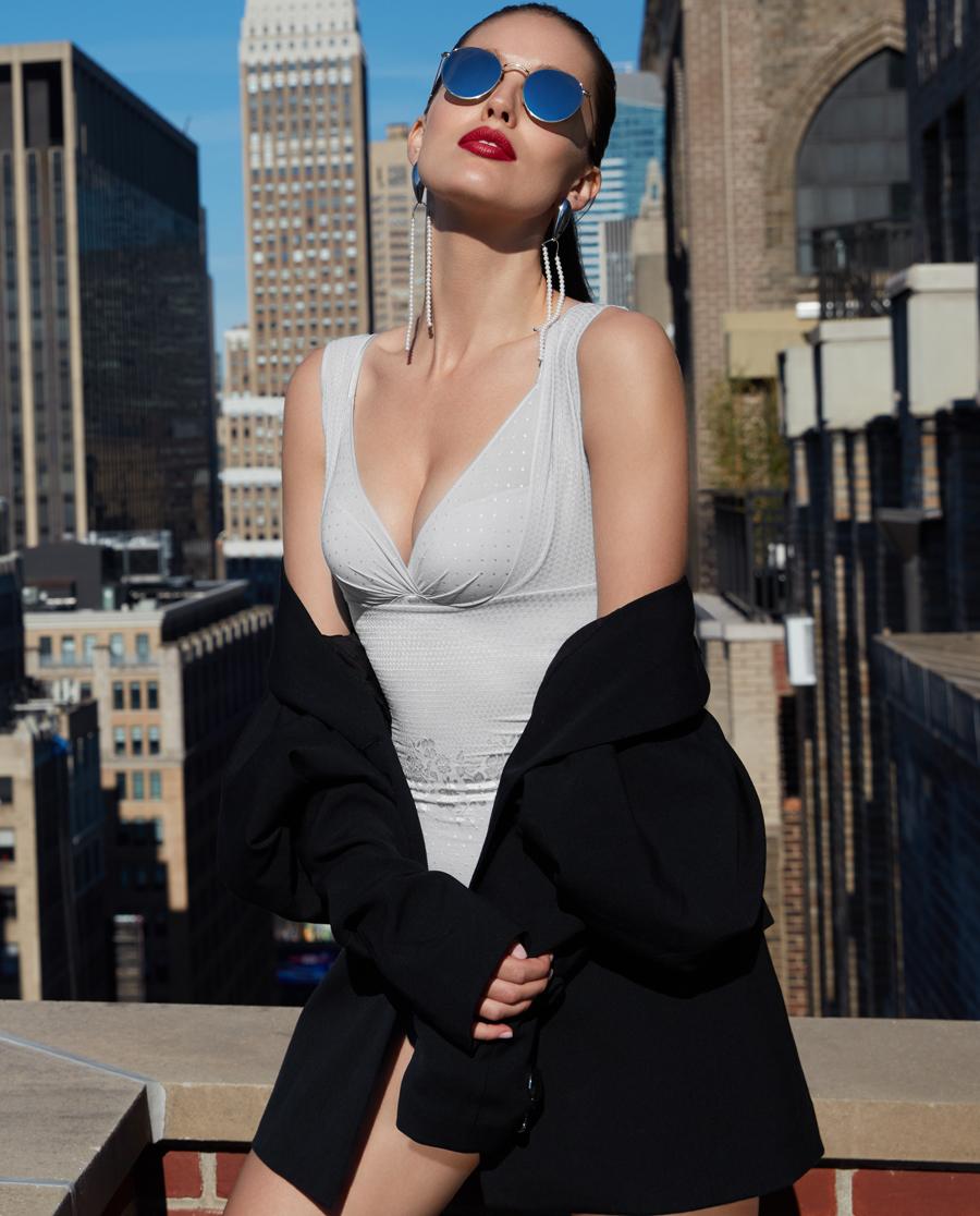 La Clover美体|LA CLOVER塑身系列连体塑身衣LC