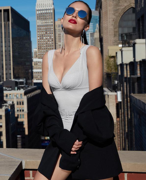 La Clover美体|LA CLOVER塑身系列连体塑身衣LC36HC1