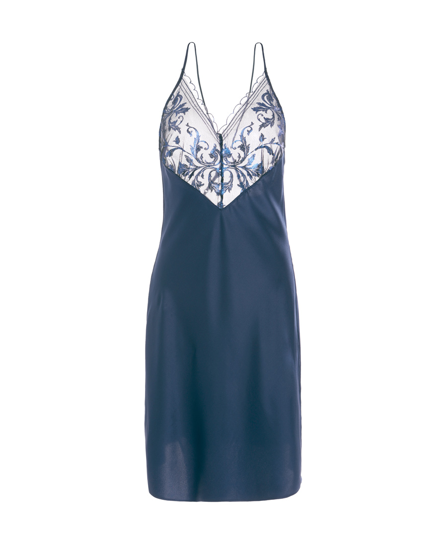 La Clover睡衣 LA CLOVER兰卡文流光溢彩系列吊带裙LC42JW1