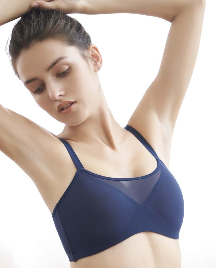 Aimer Sports文胸|爱慕运动瑜伽大师低强度三明治薄模杯文胸A
