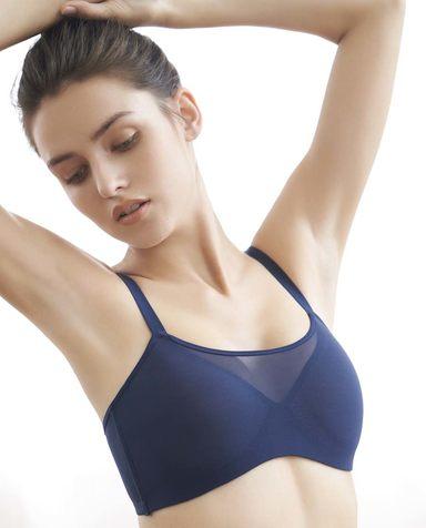 Aimer Sports文胸|爱慕运动瑜伽大师低强度三明治薄模杯文胸AS111H71