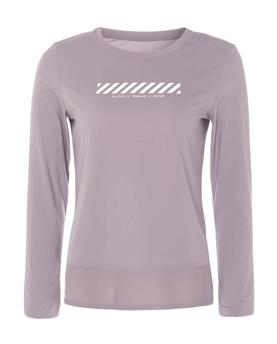 Aimer Sports运动装|巴黎夫人运动任何天气II圆领长袖T恤AS14