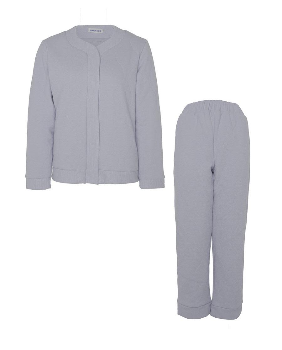 Aimer Home睡衣|愛慕家品絎縫情懷絎縫分身家居套裝AH46