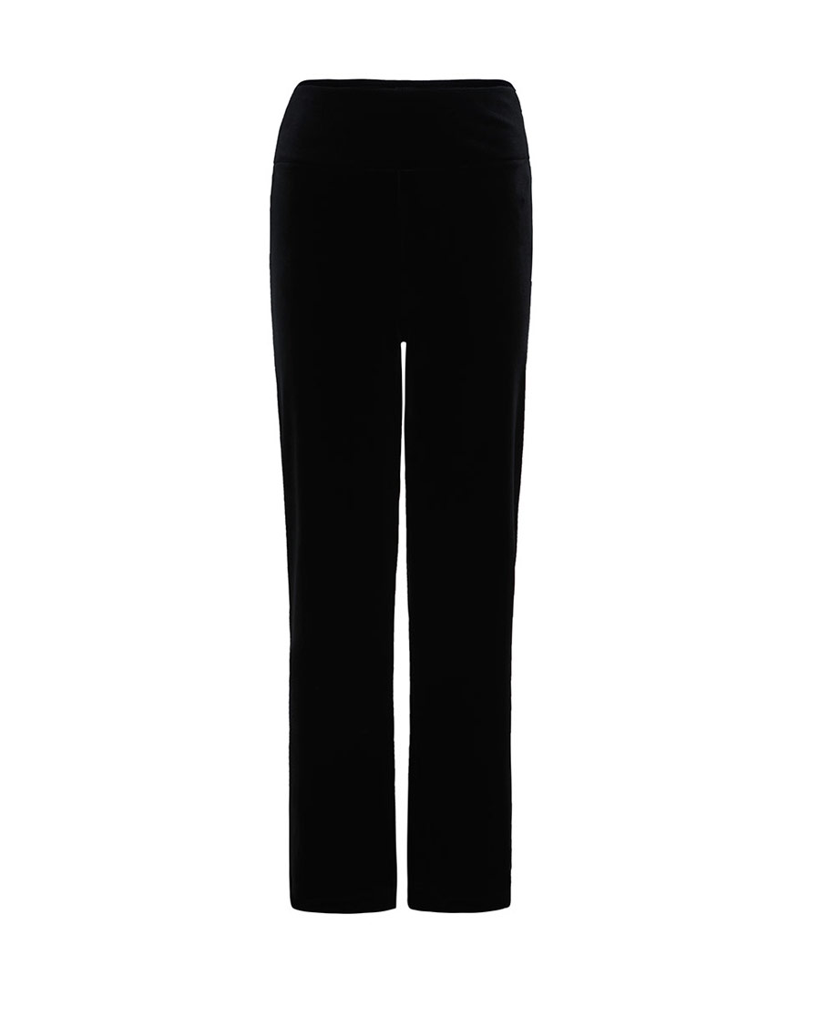 La Clover睡衣|LA CLOVER歌剧魅影丝绒外穿长裤L