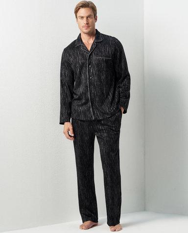 Aimer Men睡衣|爱慕先生岩石系列家居长裤NS42C661