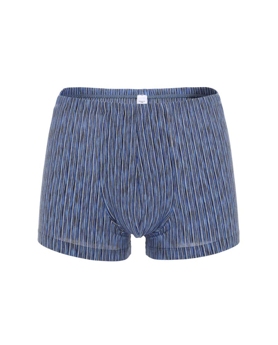 Aimer Men内裤|巴黎夫人先生色织条纹包腰平角裤NS23C33