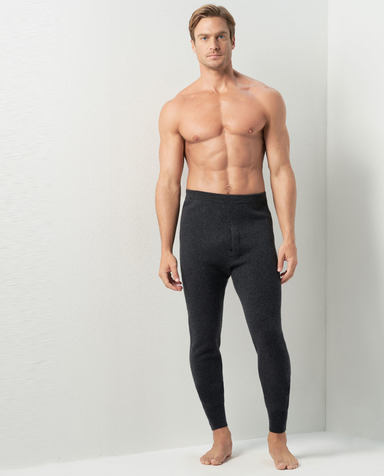 Aimer Men保暖|爱慕先生羊绒长裤NS73C511