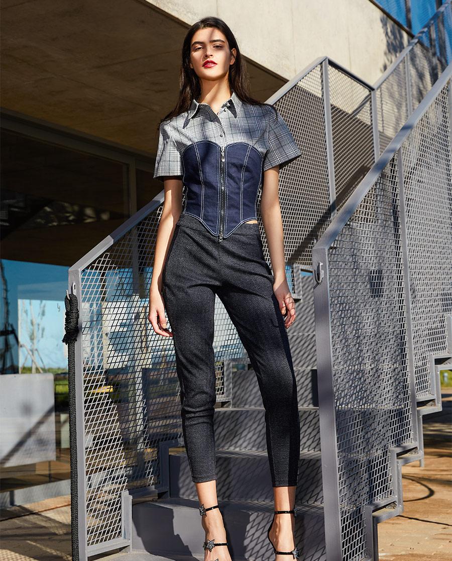 La Clover保暖 LA CLOVER零号裤系列暖暖羊毛休闲长裤LC82FT2