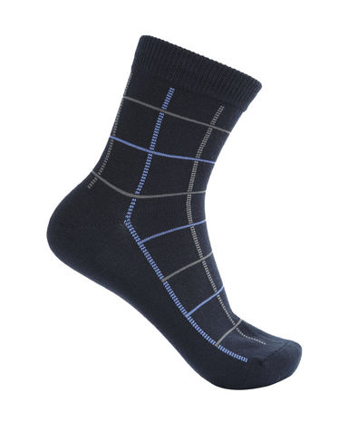 Body Wild袜子|宝迪威德格纹商务袜ZBN94PS2