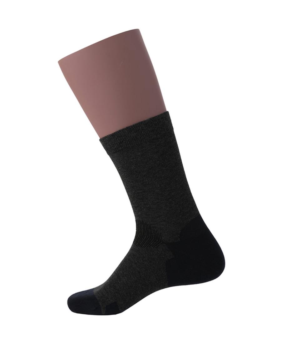 JOURVA襪子|舒適隨想男士撞色直角短筒襪JV21104