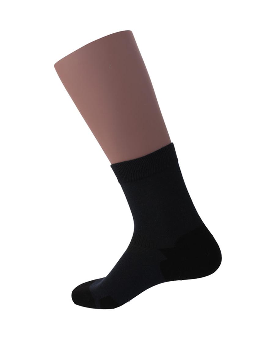 JOURVA袜子|舒适随想男士撞色直角短筒袜JV21104