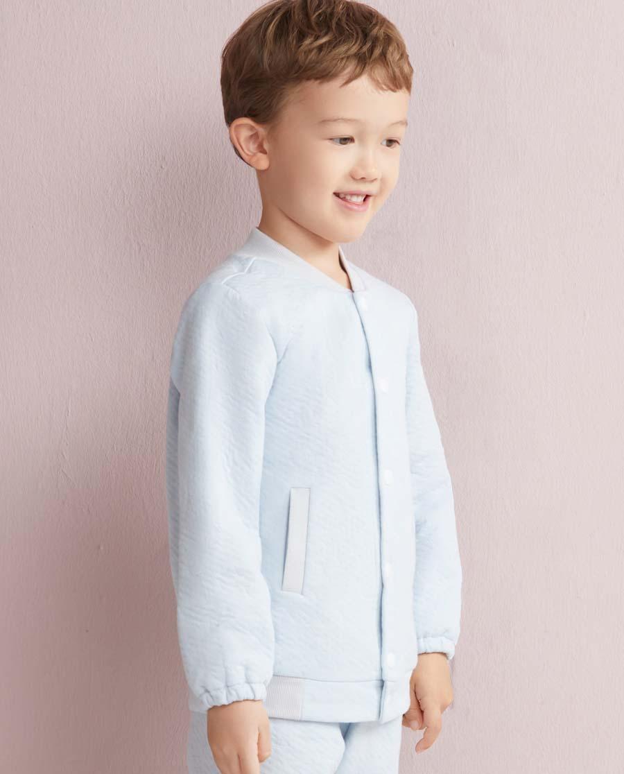 Aimer Kids睡衣|爱慕儿童星点宝贝开衫长袖AK241021