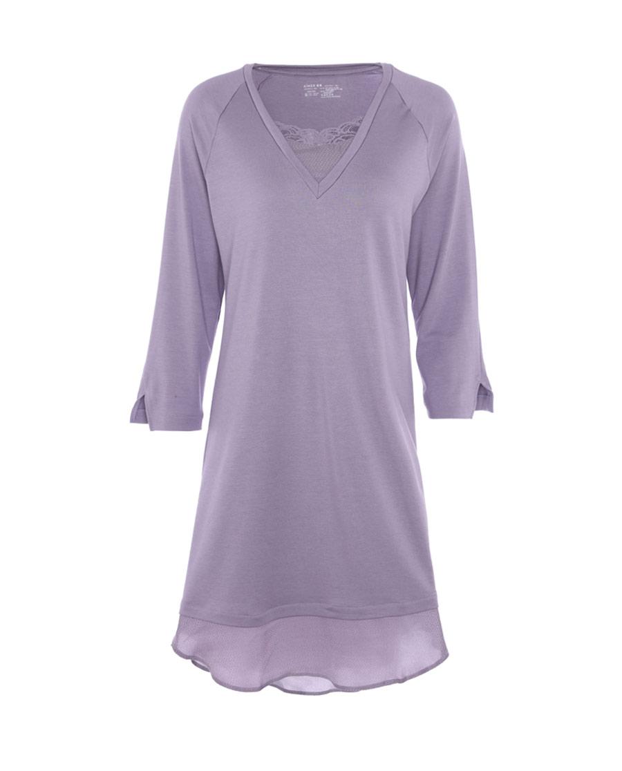 Aimer Home睡衣|爱慕牛奶好眠II长袖睡裙AH440532